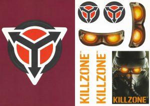 Killzone PS2 Promo stickers