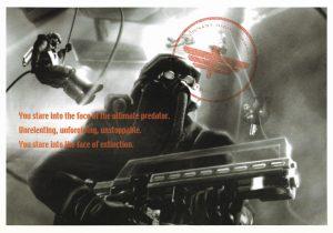 Killzone PS2 Promo postcard 2 of 4