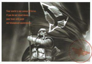 Killzone PS2 Promo postcard 3 of 4